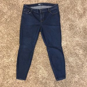 Super skinny stretch jeans, size 16